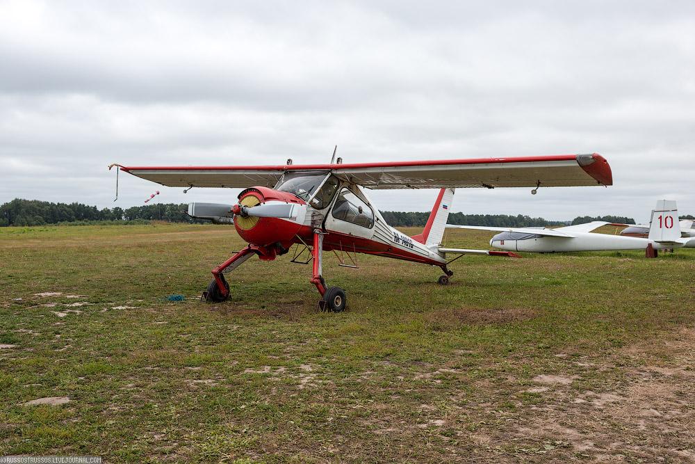 Подготовка планера к полетам