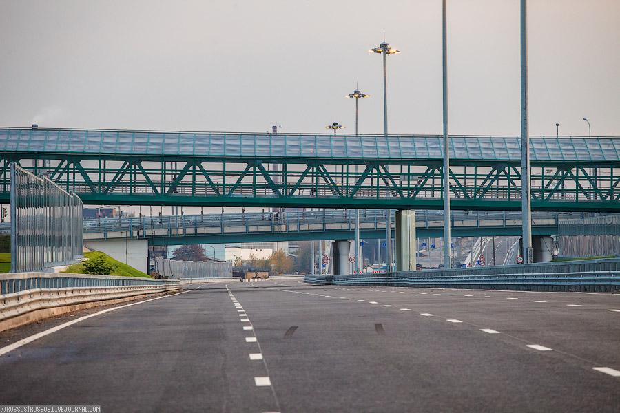 стоящее шоссе Энтузиастов.