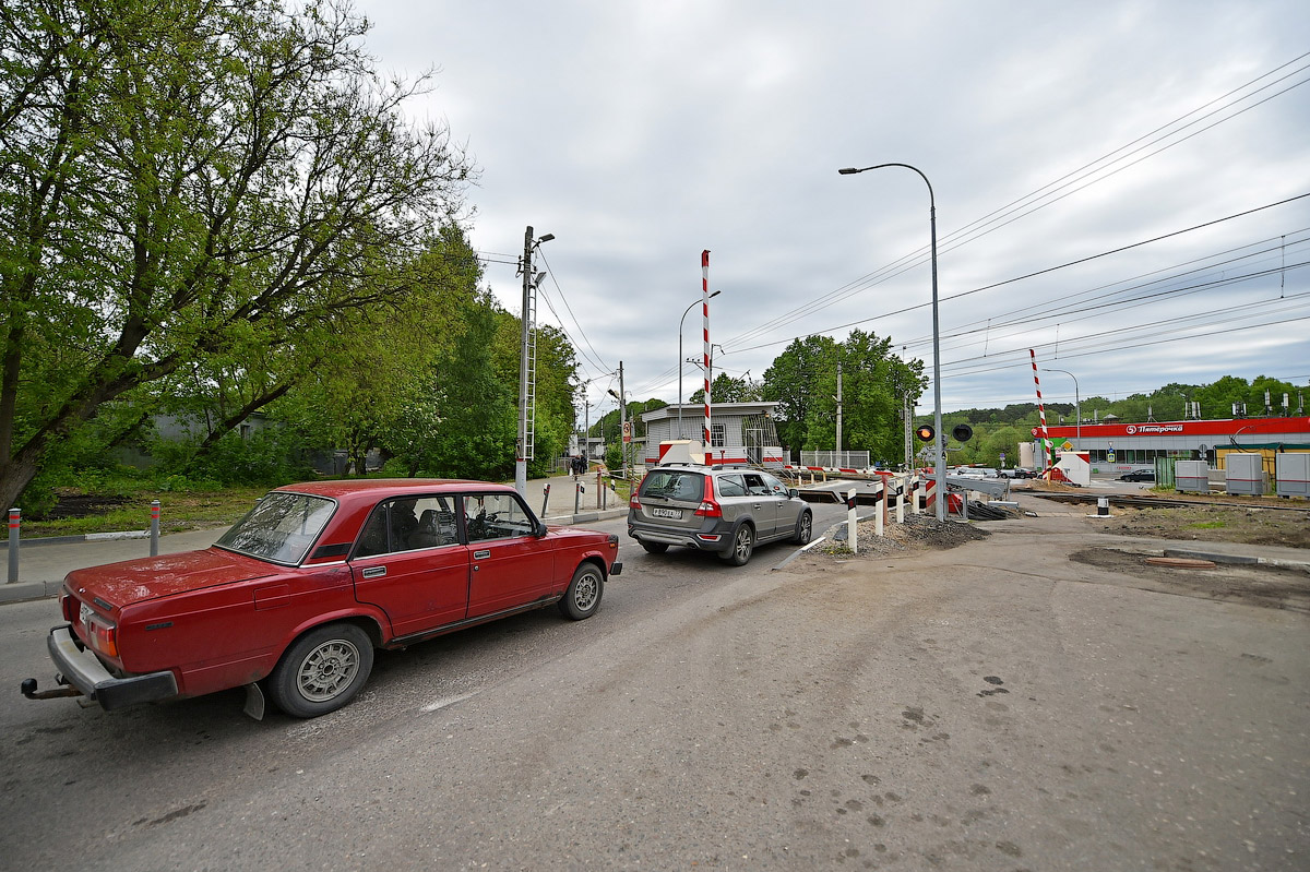 An overpass is opened in Peredelkino via the railway