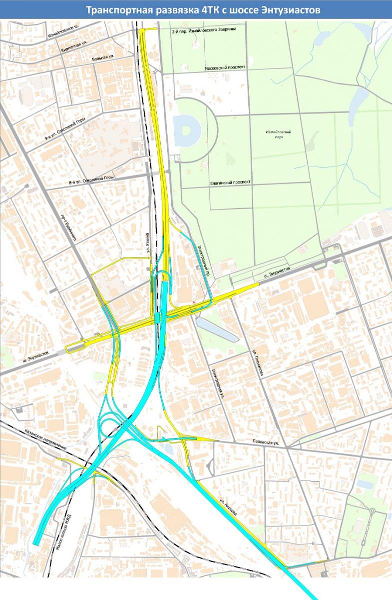 Схема четвертого транспортного