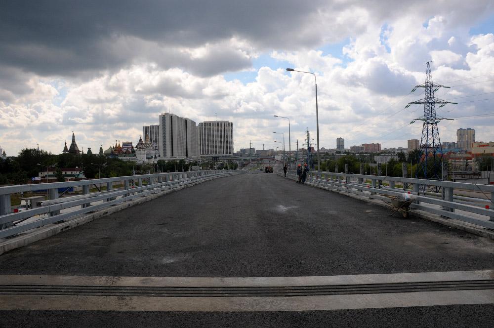Развязка Щелковского шоссе и СВХ