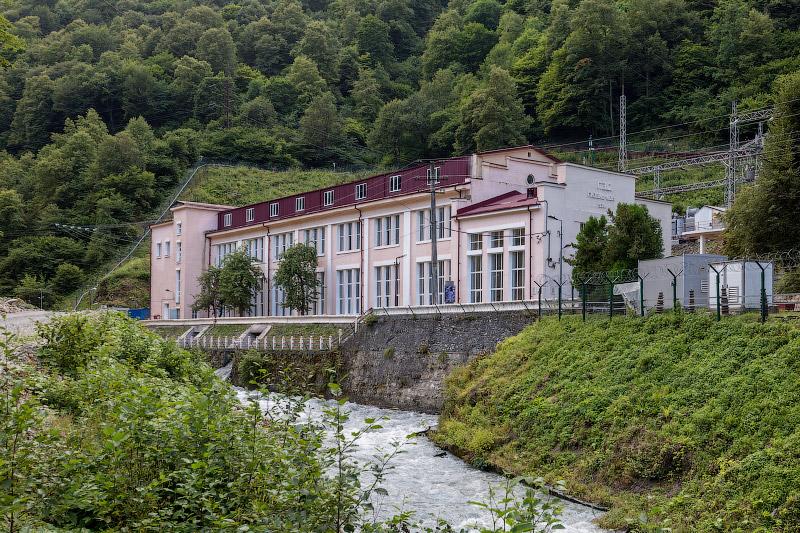 РусГидро | Гизельдонская ГЭС в Северной Осетии