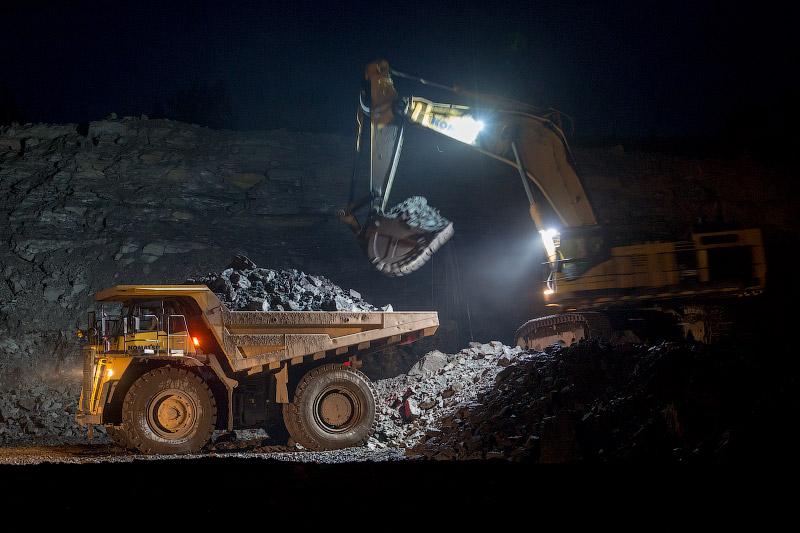 Русский Уголь   Сутки Саяно-Партизанского разреза