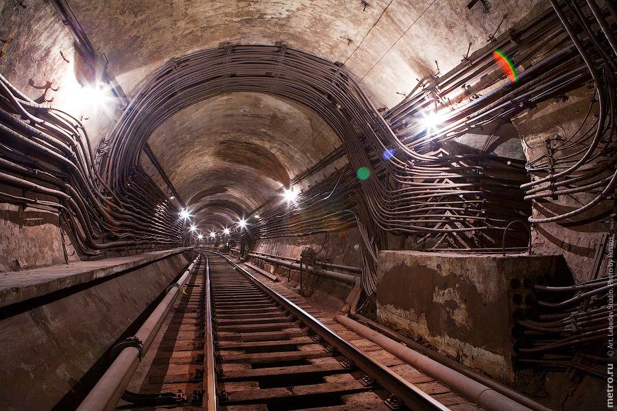 бывших строительных шахт