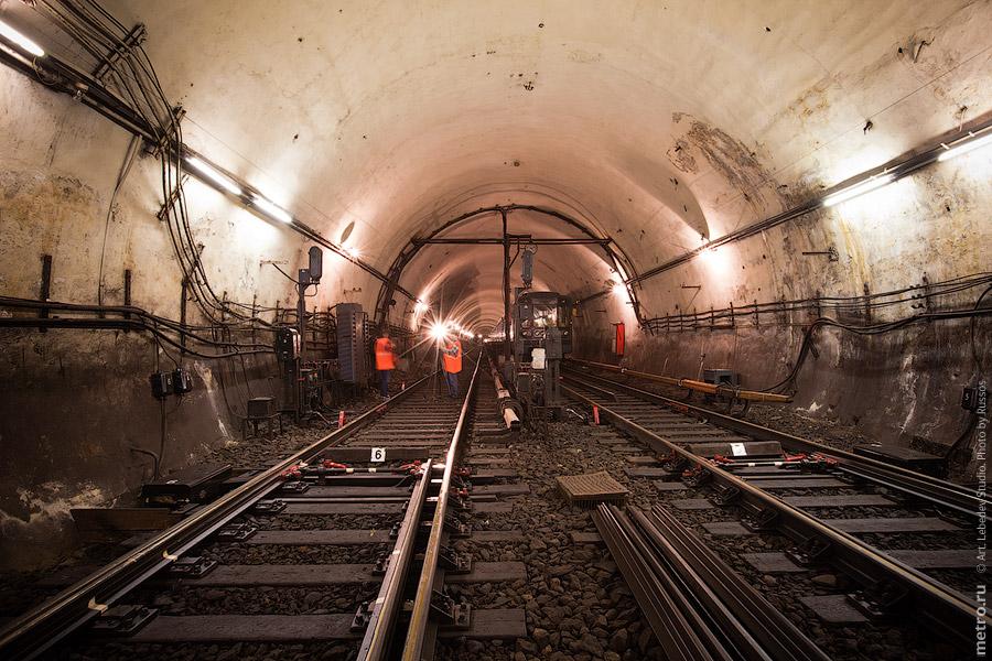 Съемки в метро.