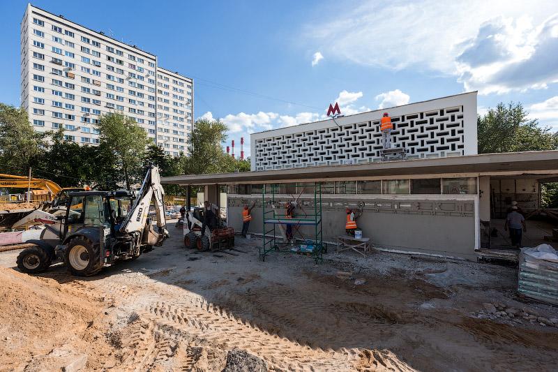 Реконструкция южного вестибюля станции «Ленинский проспект»