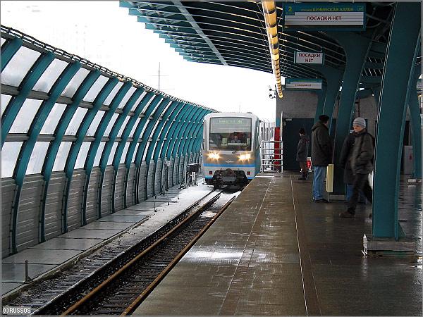 russos: Бутовская линия легкого метро