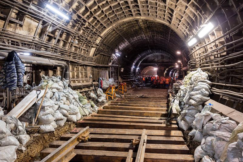 Продолжаем работы на станции «Петровско-Разумовская»