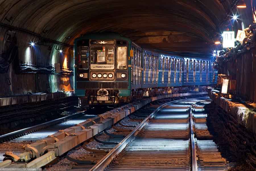 Первый тоннель Московского метро