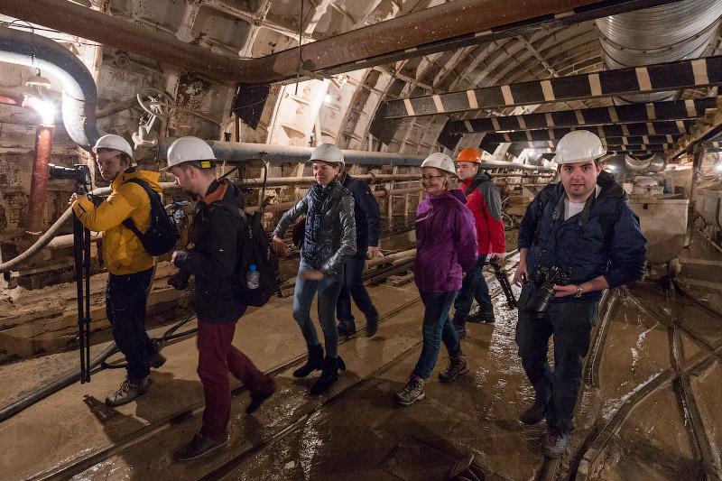 Экскурсия на строительство станции метро «Бутырская»