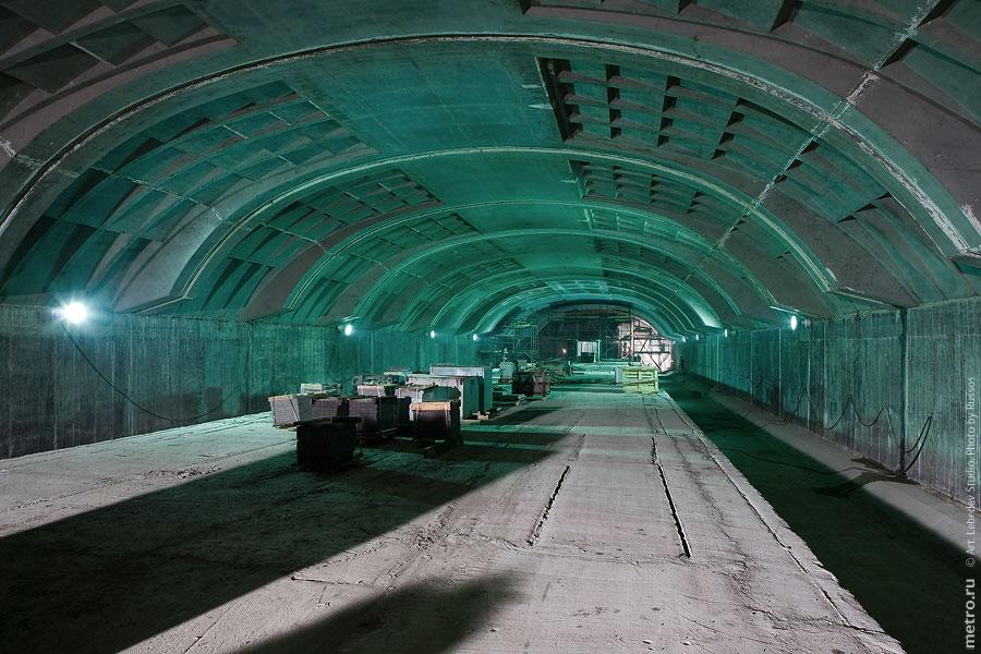 Line 3. Station 'Mitino' (in project 2009). ©Photo A.Popov, 2009