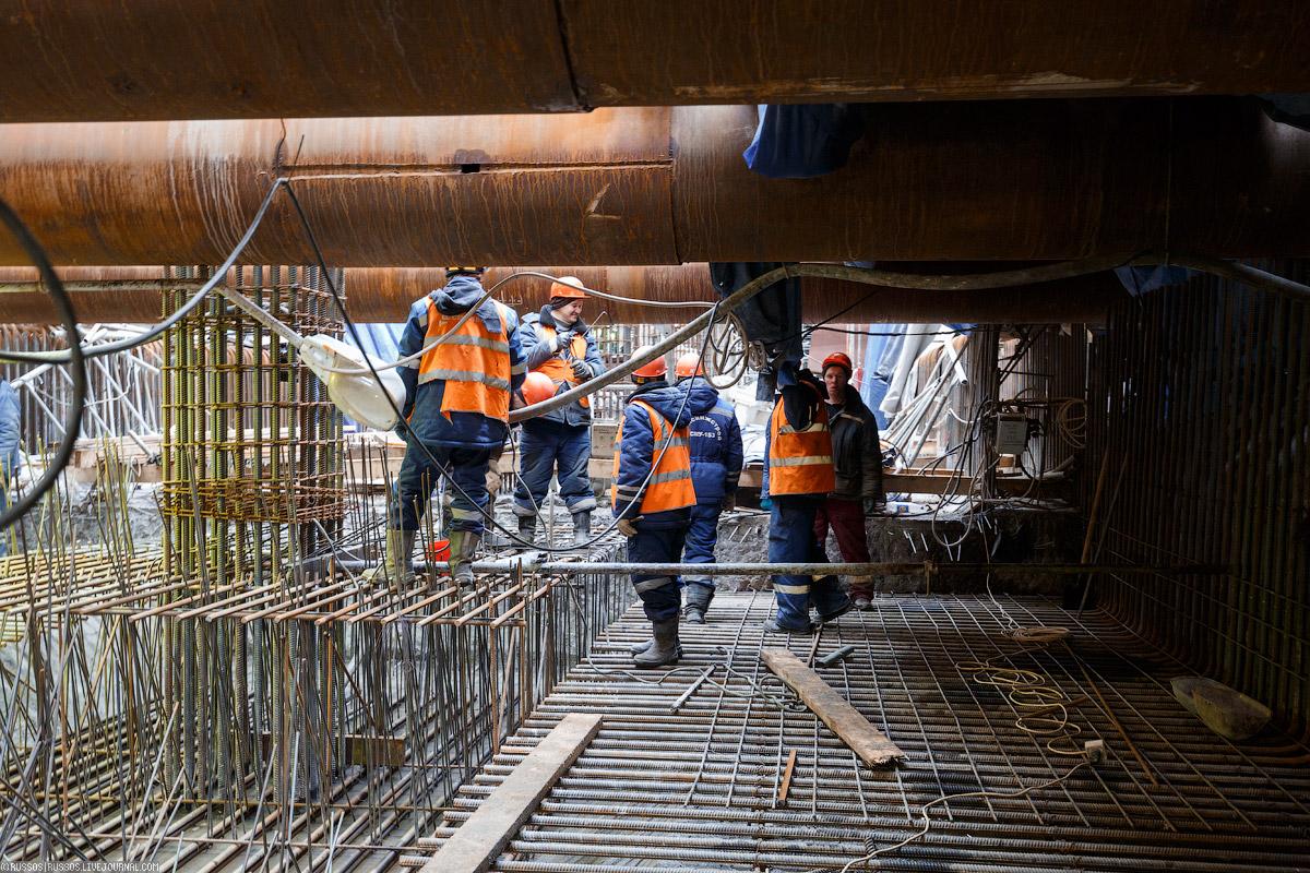 схема туннелей станции метро парк победы