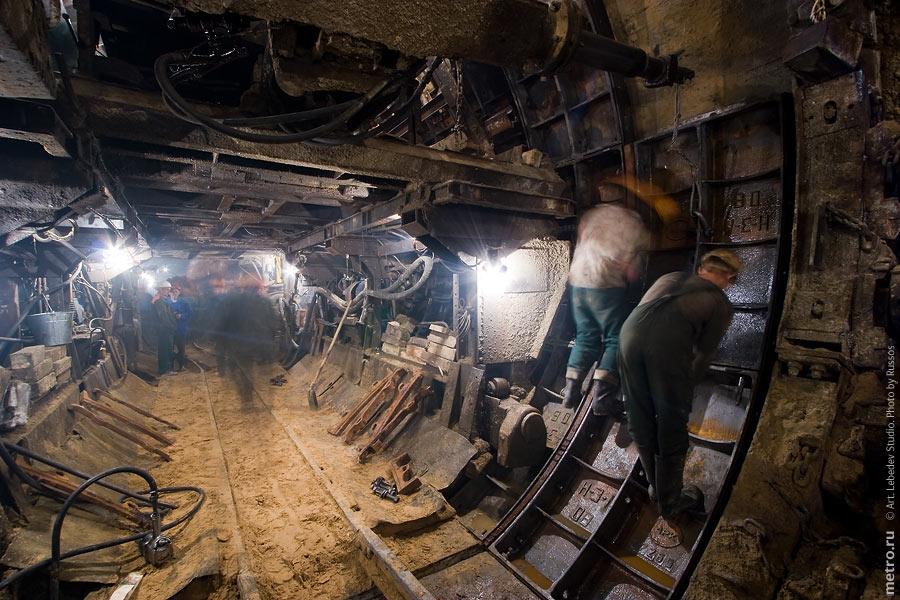 тюбинг тоннеля