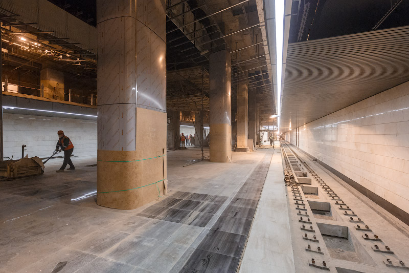 Станция «Деловой Центр» третьего пересадочного контура