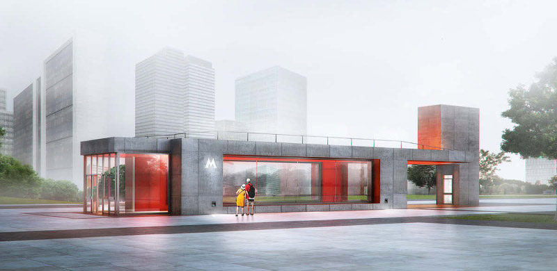 Станции «Нижние Мневники» и «Терехово» — завершен конкурс на дизайн станций