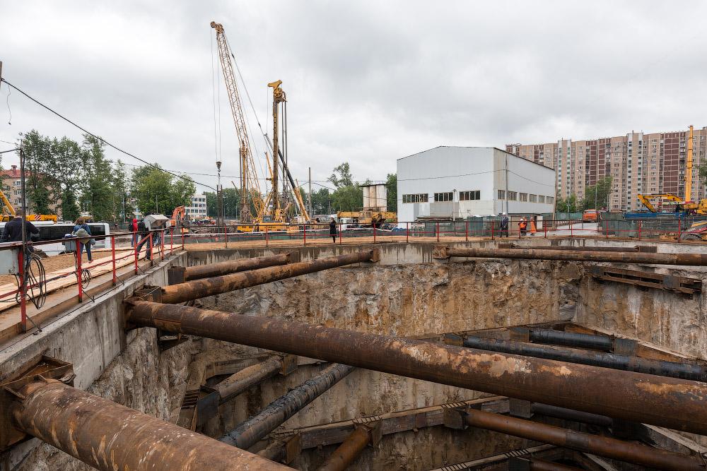 Строительство станции «Лефортово» Третьего пересадочного контура