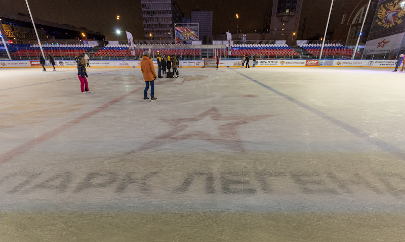 Где лучший лёд в Москве для массового катания?