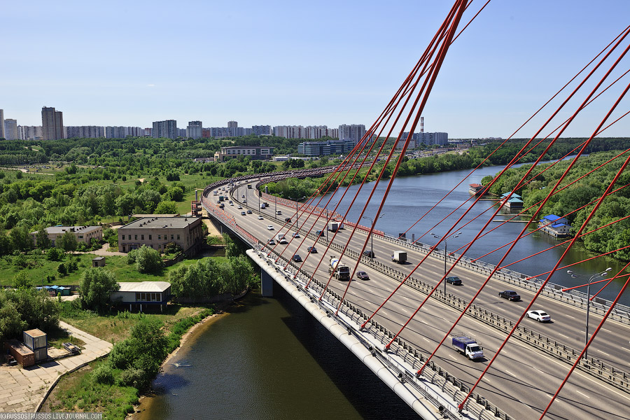 A Picturesque Bridge Of Moscow