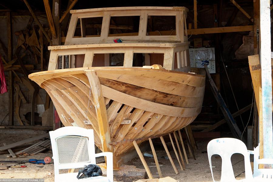как сделать парусную лодку из дерева
