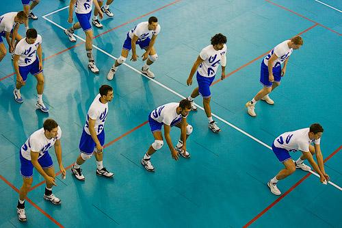 Тренировки по волейболу для одного