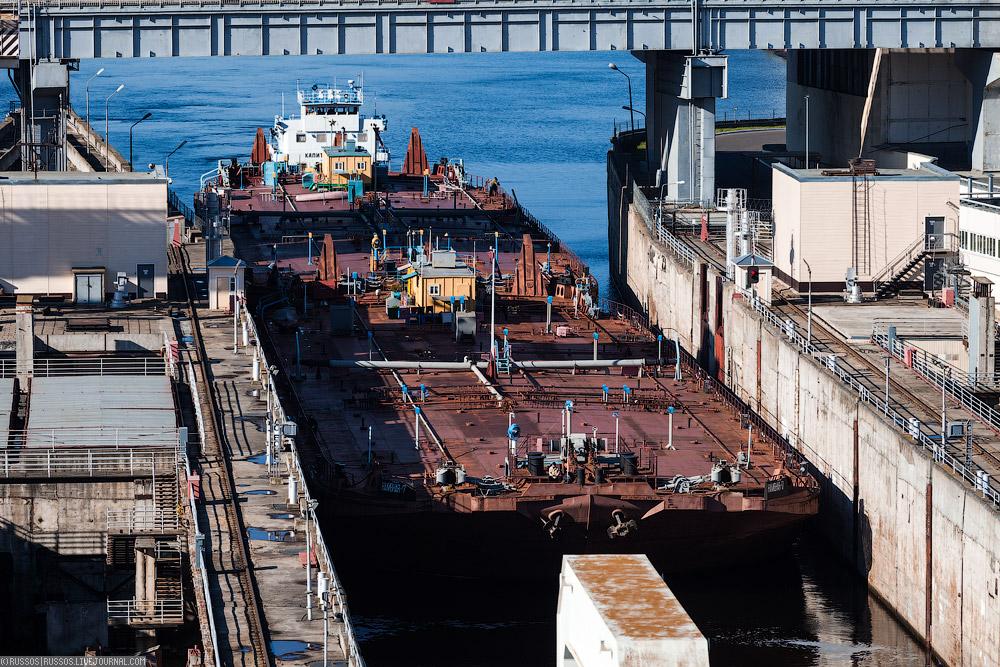шлюзы Чебоксарской ГЭС