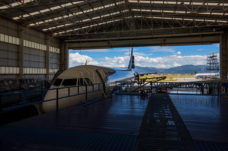 Interjet, C-check A320 и Толука