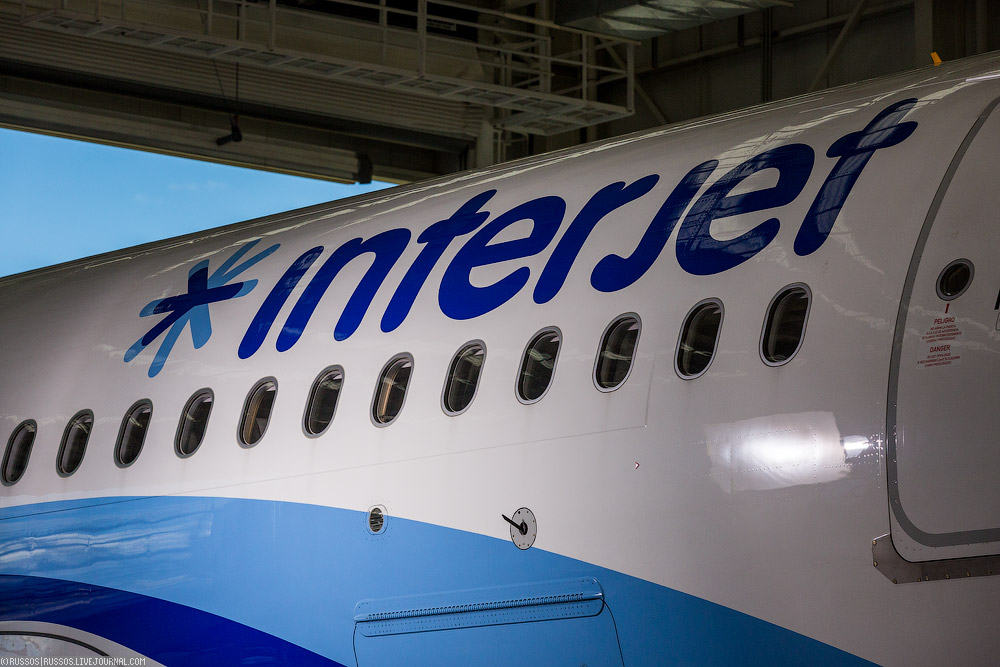 Interjet, C-check A320 и Толука