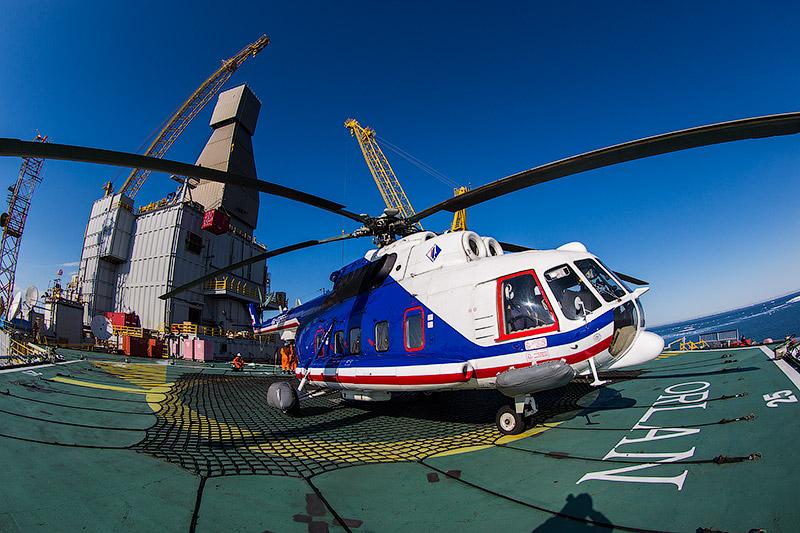 Проект «Сахалин-1». Вертолетные перевозки