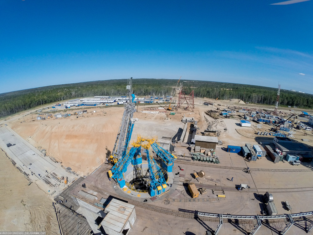 New Russian Cosmodrome - Vostochniy - Page 2 Cosmodrome-vost-30