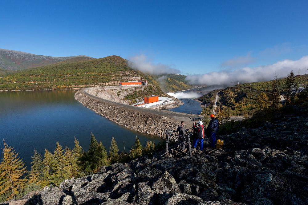 РусГидро   Колымская ГЭС