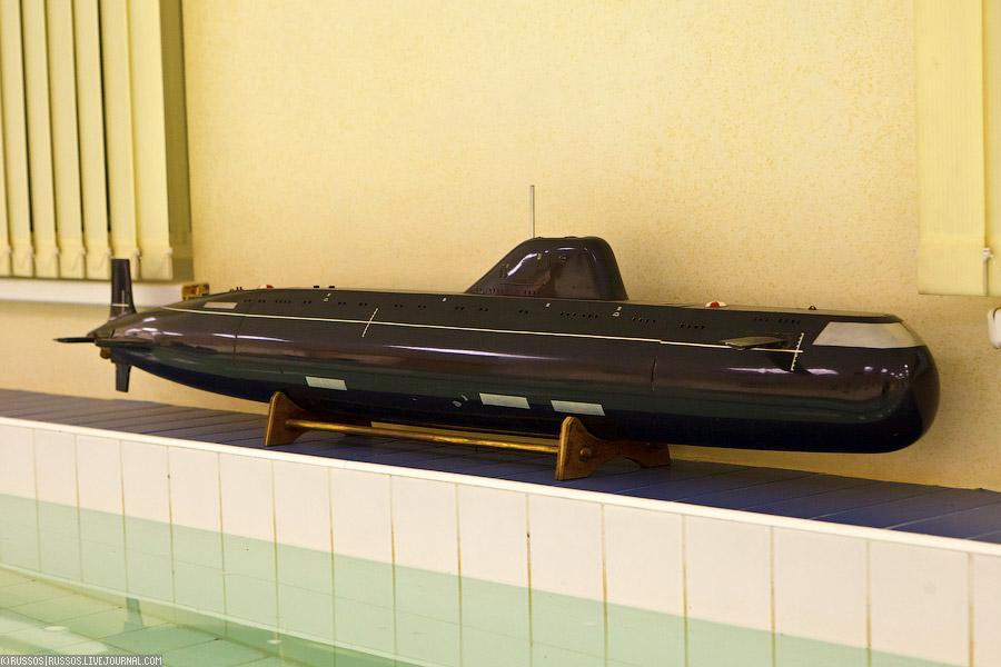 Поделка своими руками - подводная лодка 84