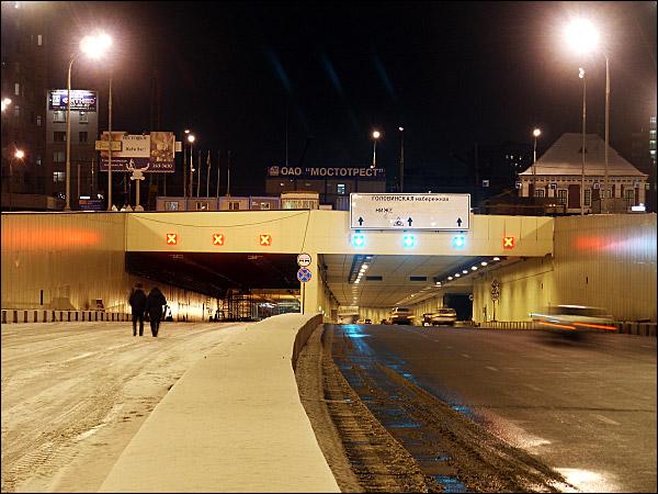 Порталы Лефортовских тоннелей