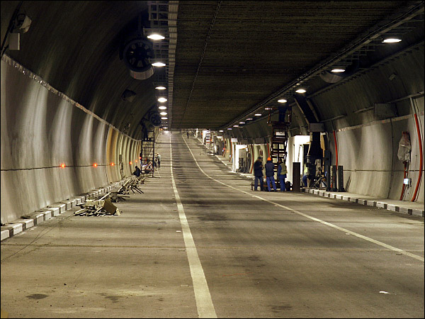 Готовый тоннель, вид №2