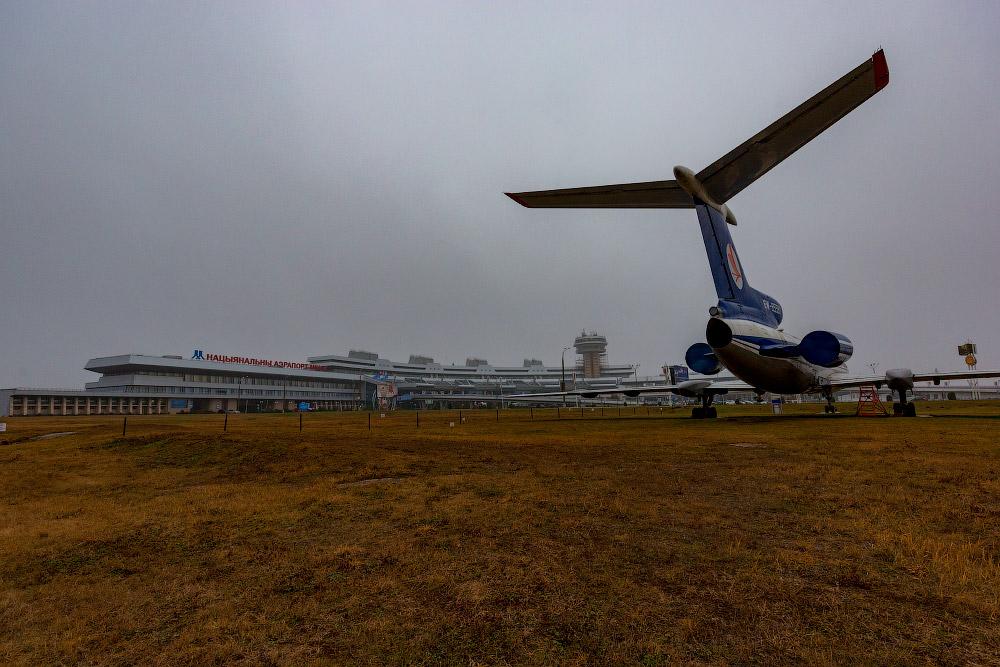 Небольшой авиамузей в Минске