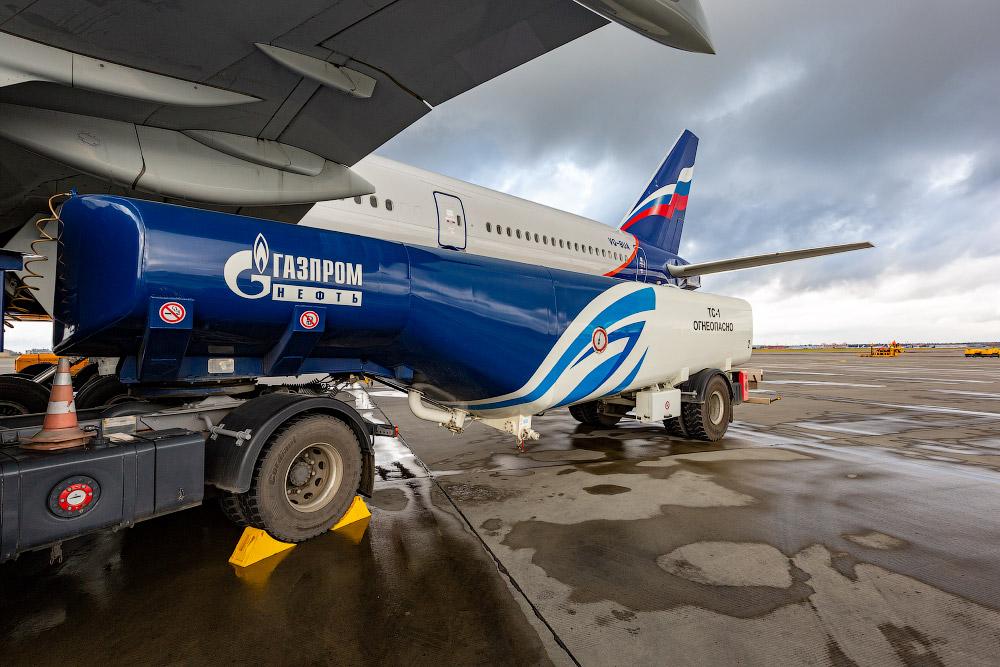 «Газпромнефть Аэро» — как заправляют самолеты