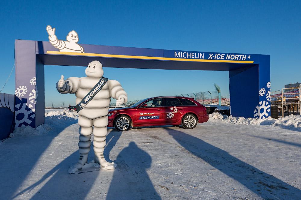 Тестируем зимние шипы на примере MICHELIN X-Ice North 4!