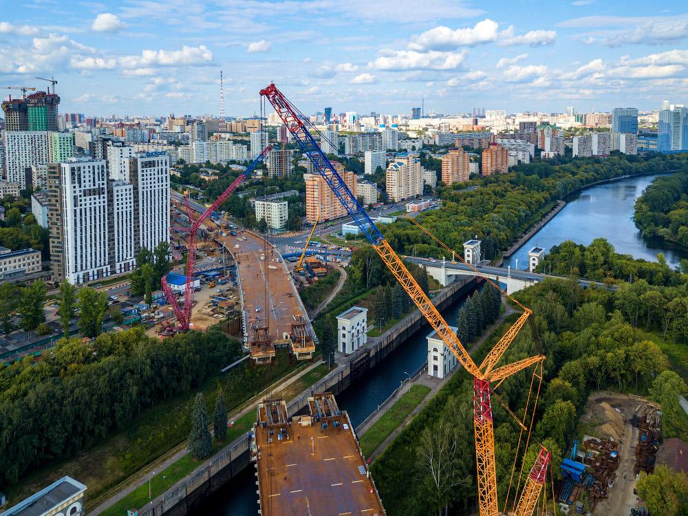 Новый Карамышевский мост