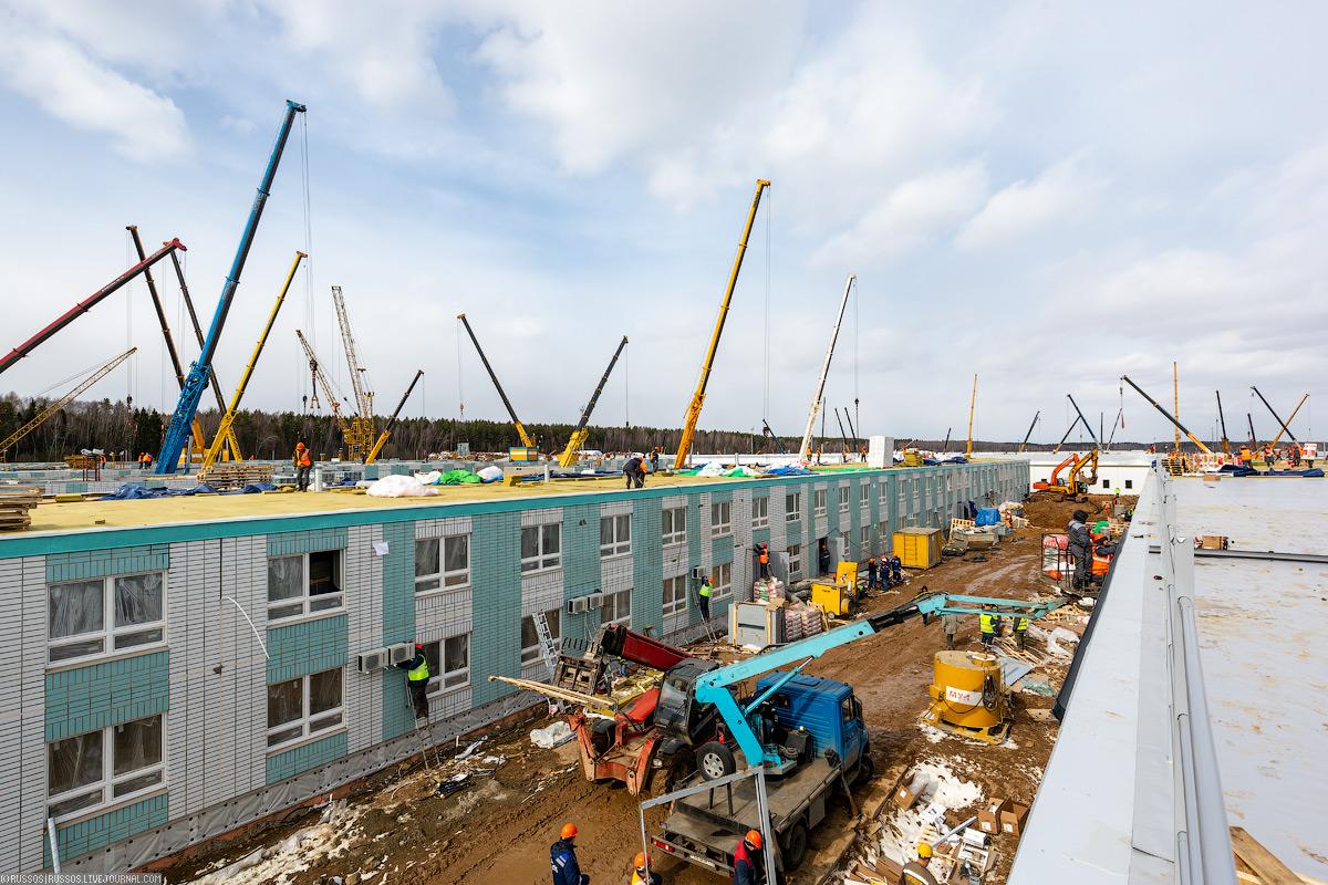 Масштабное строительство больницы
