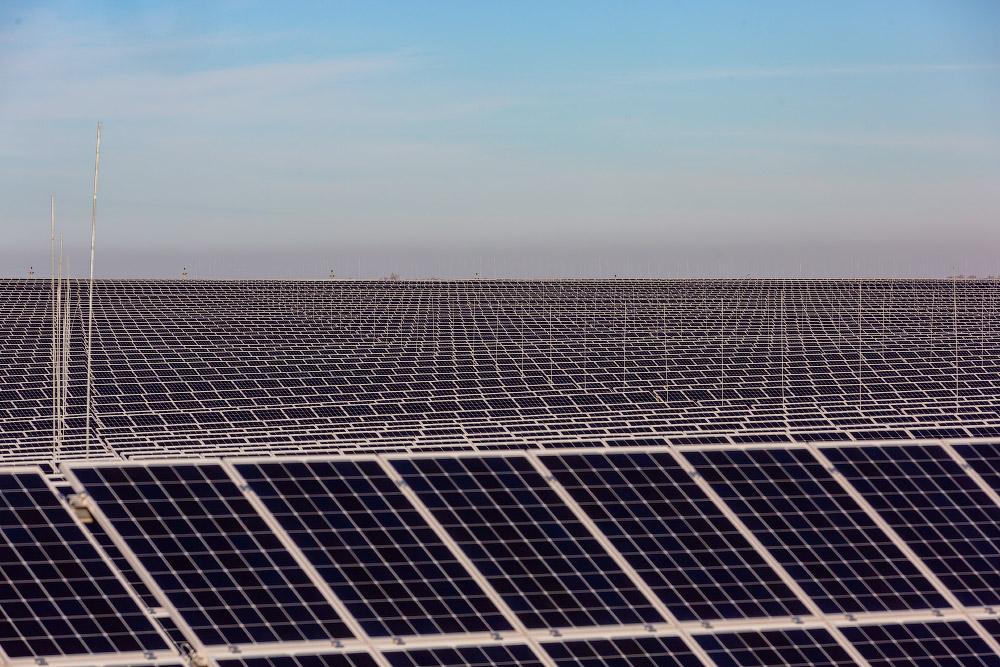 Крупнейшии солнечные электростанции в России