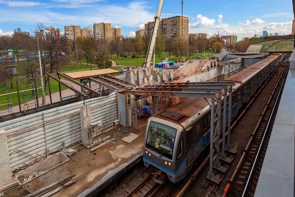 Реконструкция Филевской линии метро