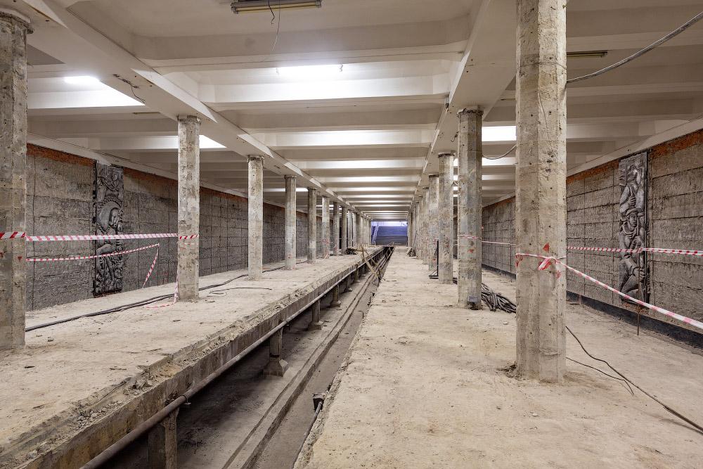 Реконструкция Каховской линии