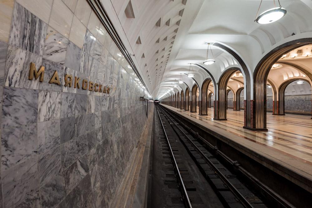 Лекция «Станция «Маяковская». Строительство и реконструкция»