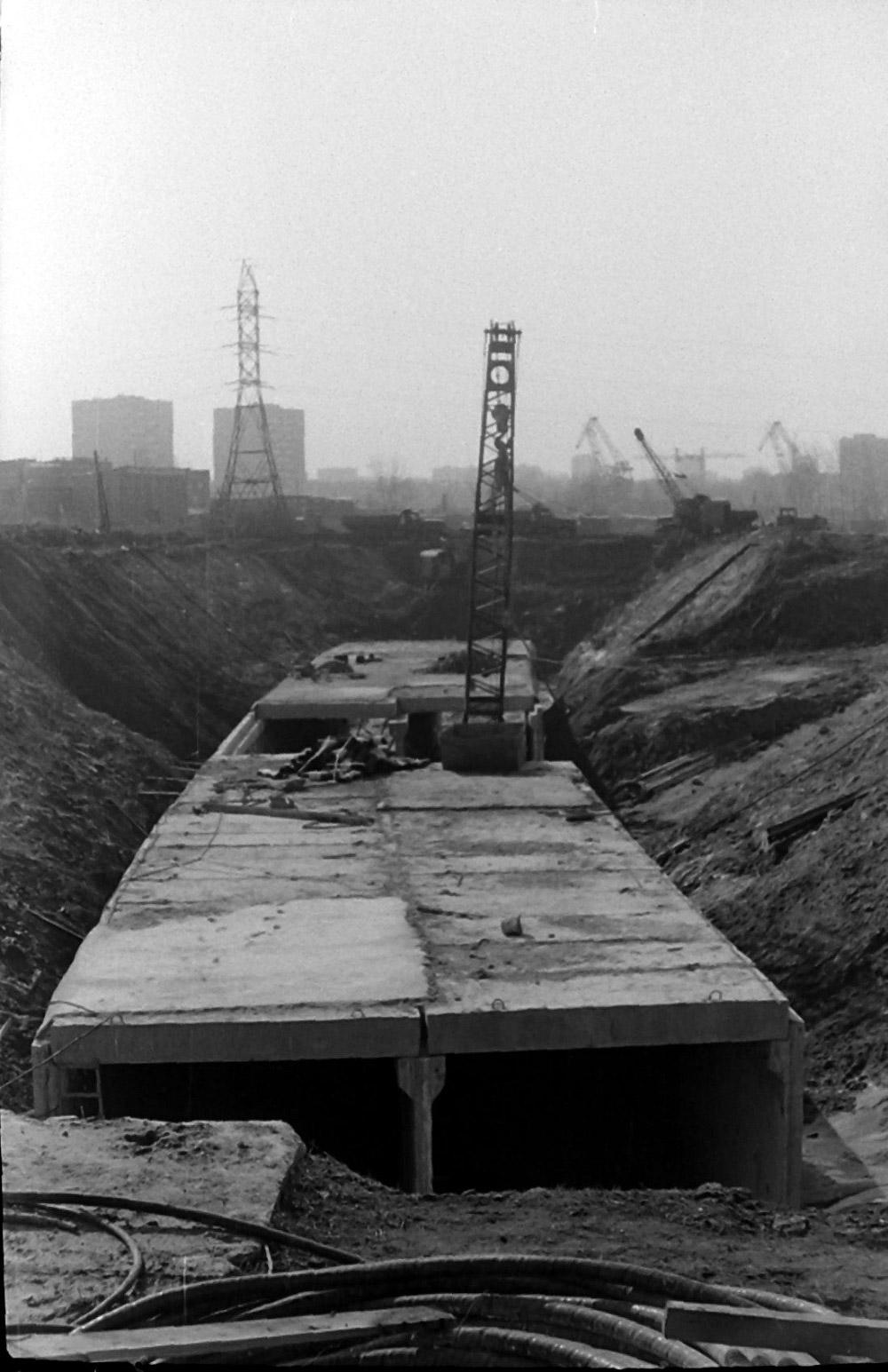 Строительство перегона между станциями «Бабушкинская» — «Медведково»
