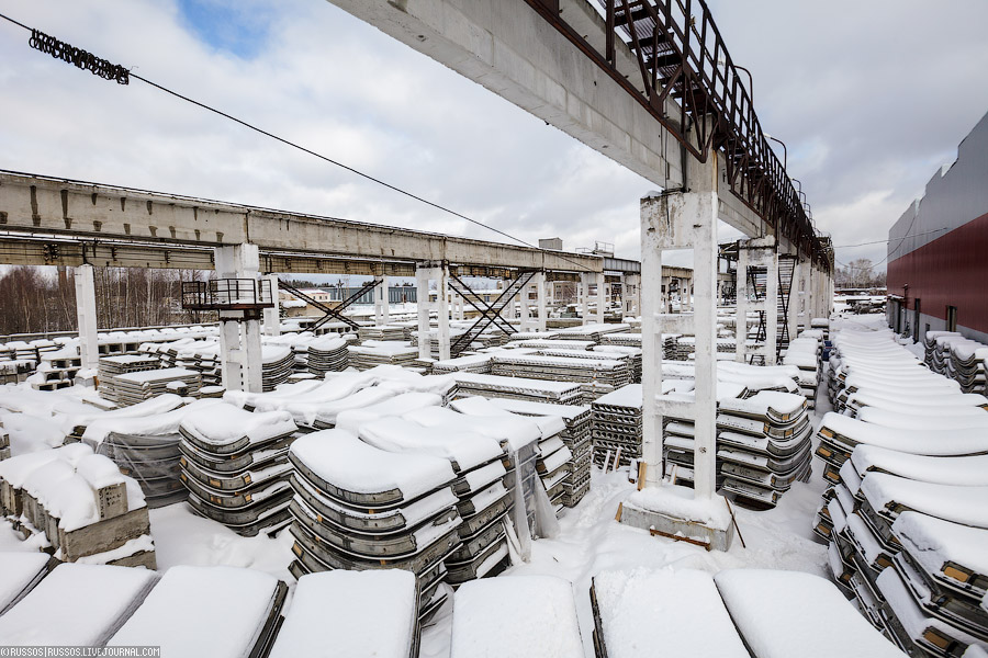 Как производят бетонные блоки для метро
