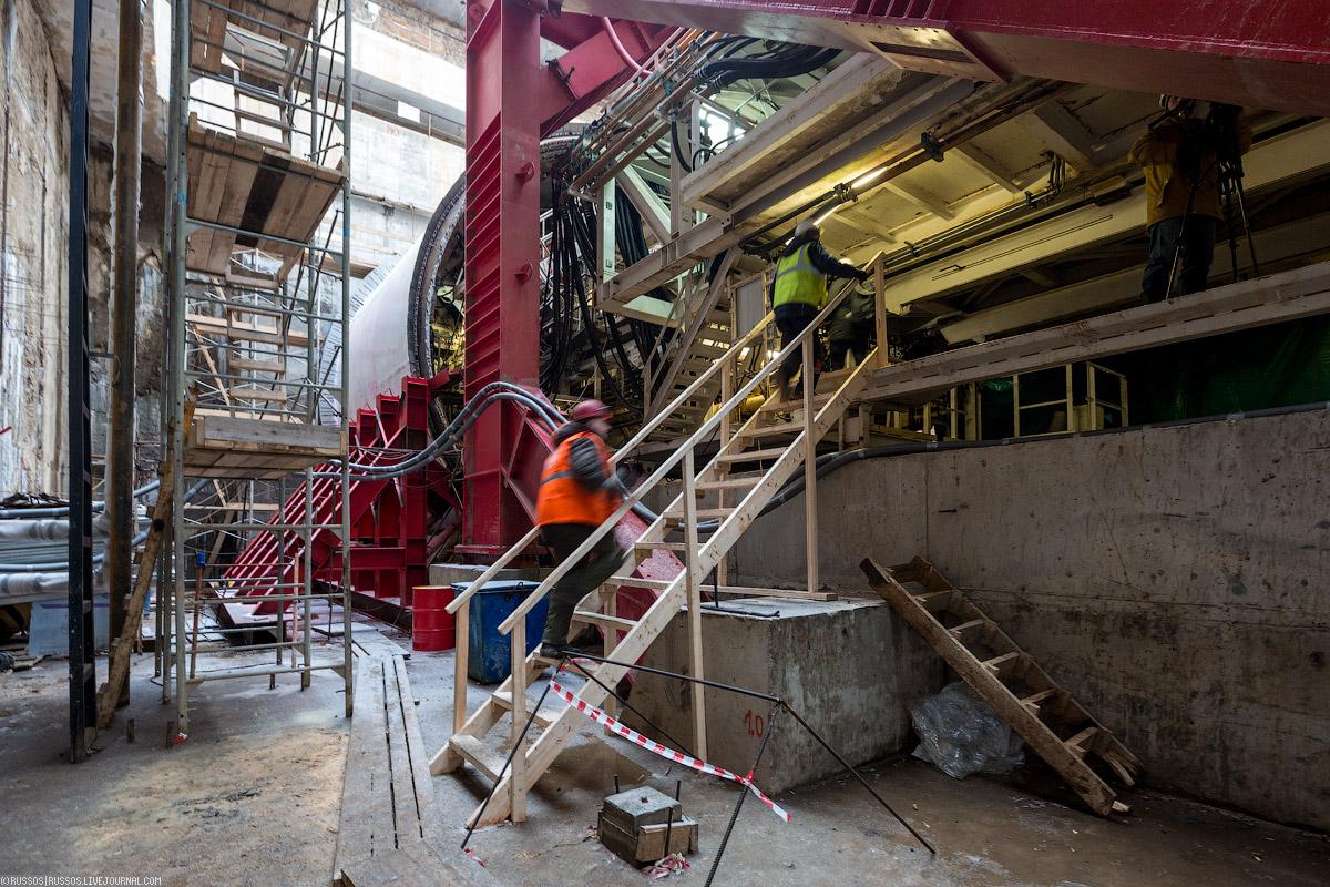 Виктория — новый ТПМК диаметром 10 метров для Кожуховской линии. станции, зазор, тоннеля, будет, «Стахановская», блоков, который, Лилия, видите, «Окская», метров, обделки, больше, смесь, тоннель, Виктория, происходит, пройти, двухпутного, съемки