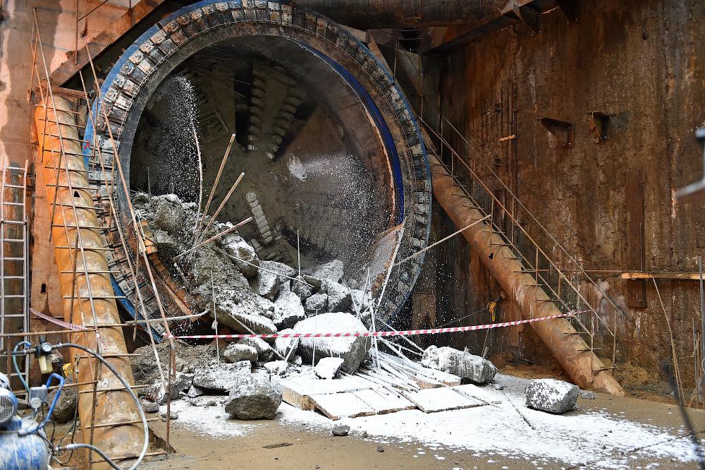 Тоннель до станции метро «Косино» Кожуховской линии готов!