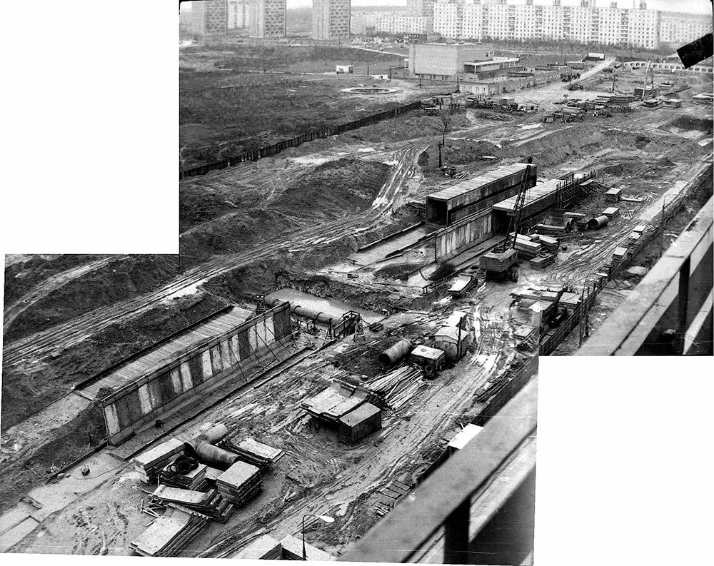 И снова строительство станции «Медведково»