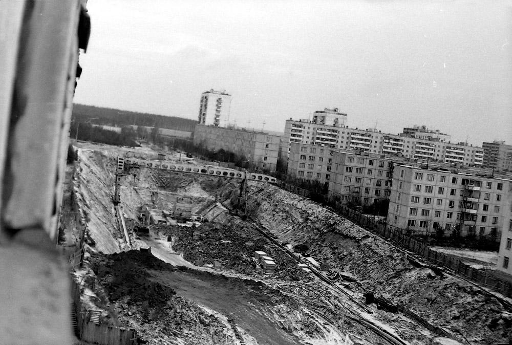 Строительство станции «Медведково», вторая часть