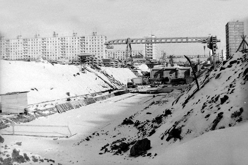Строительство станции «Медведково», третья часть