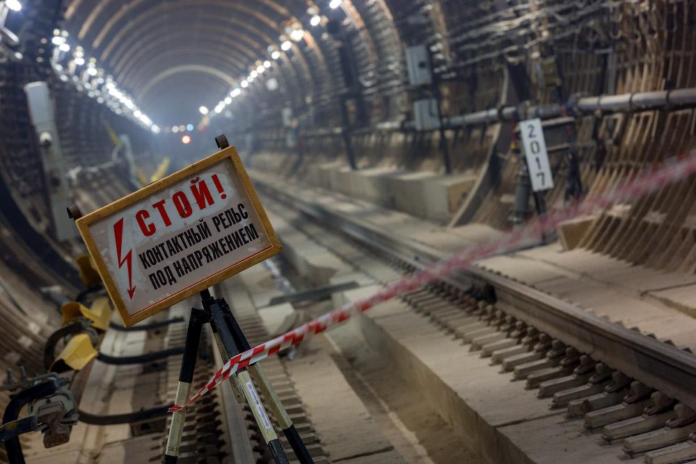 Северный участок ЛДЛ. Красивые тоннели и пробный поезд!